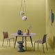 tavolo da pranzo moderno / in quercia / in noce / in alluminio