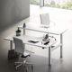 tavolo da lavoro moderno / in MDF / rettangolare / per ufficio
