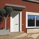 porta d'ingresso / battente / in legno / a taglio termico