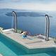 doccia da giardino solare / in alluminio / in alluminio laccato