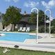 doccia da giardino per piscina / in PE