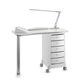 tavolo manicure con aspiratore / con illuminazione integrata