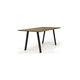 tavolo da pranzo moderno / in quercia / in noce / rettangolare