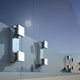 sistema di fissaggio in alluminio anodizzato / per facciata in vetro