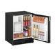 frigorifero per barca / sottopiano / nero / con distributore di ghiaccio