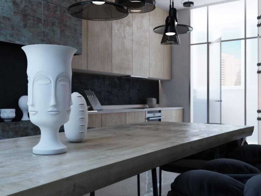 4 case moderne con i camini stupefacenti e lilluminazione creativa ...