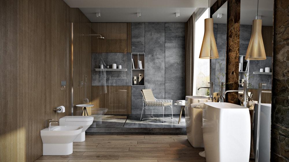 Bagni Di Lusso Foto : 5 stanze da bagno di lusso in dettaglio alto ukraine