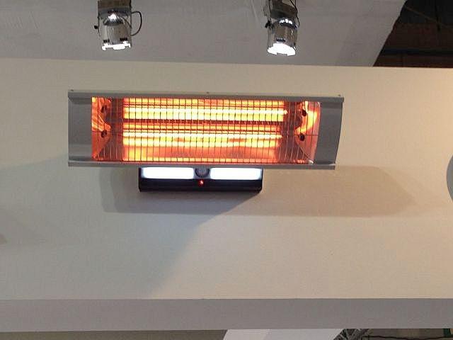 Boreas riscaldatore infrarosso con il sensore di movimento e l