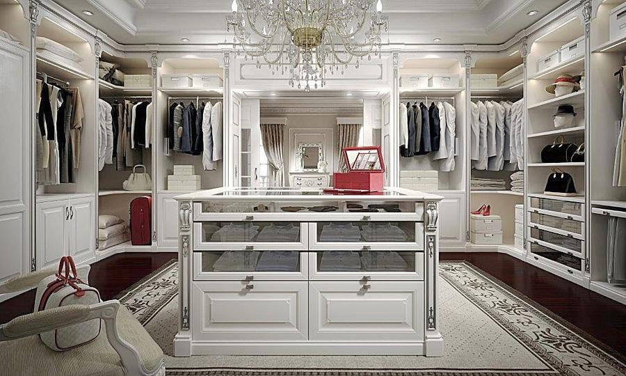 Cabine Armadio Luxury : Cabine armadio su misura modenese gastone luxury classic furniture