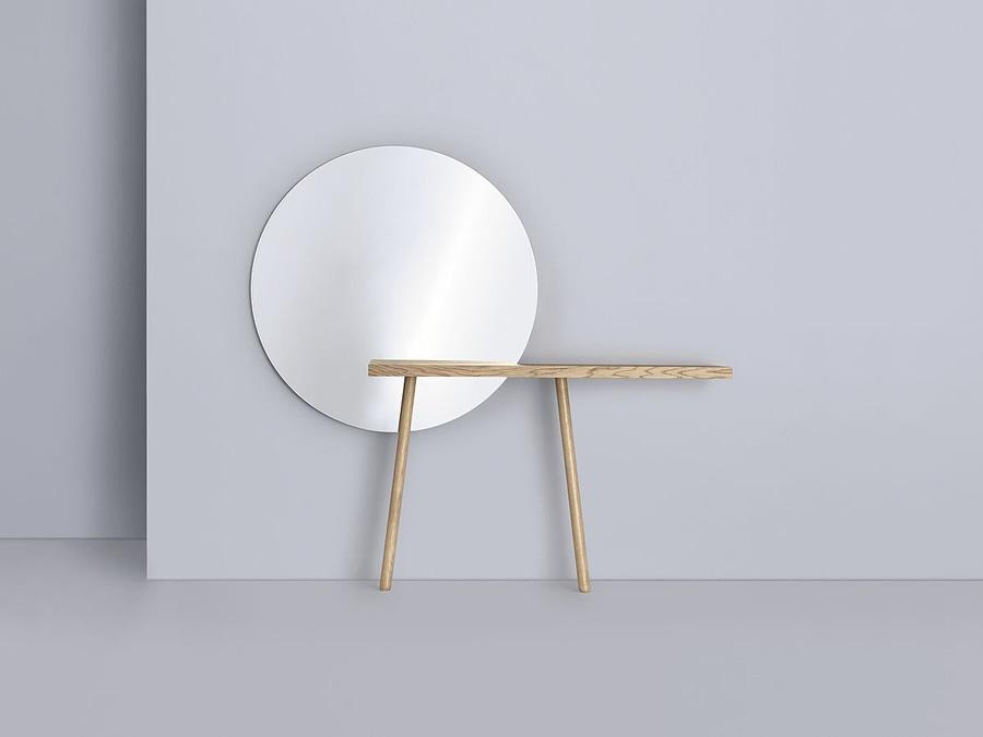 CARLA, specchio del CARLO con la mensola - ZEITRAUM