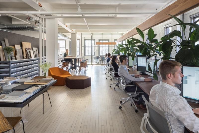 Disegno Di Ufficio : Disegno di architettura di inc il loro proprio ufficio a new york