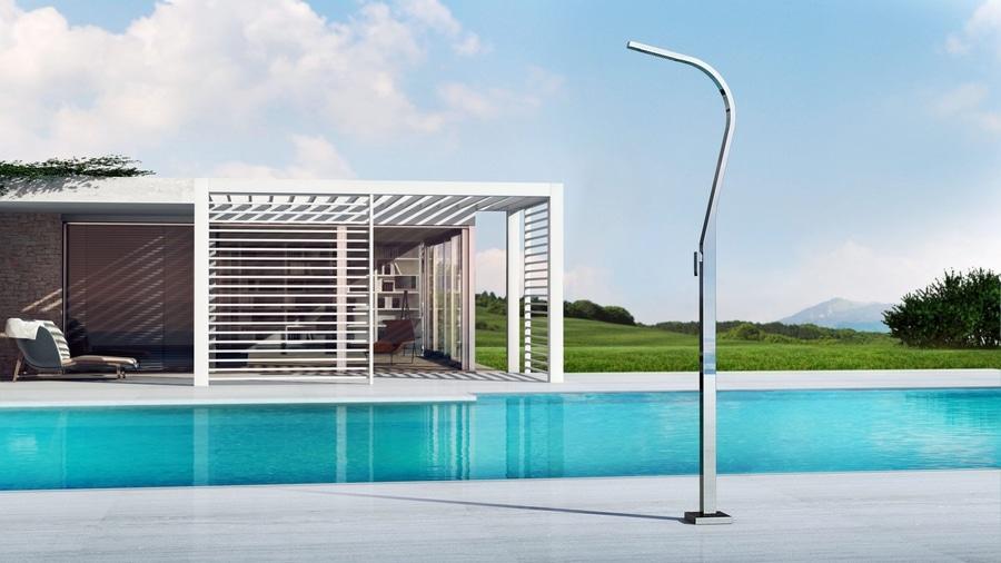 Eidothea m doccia nautica per esterno per piscina per giardino