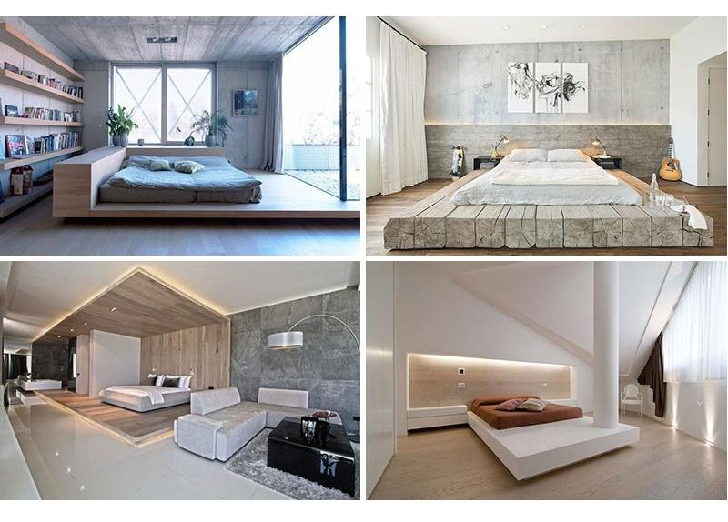 Idea di progettazione della camera da letto – disponga il vostro ...