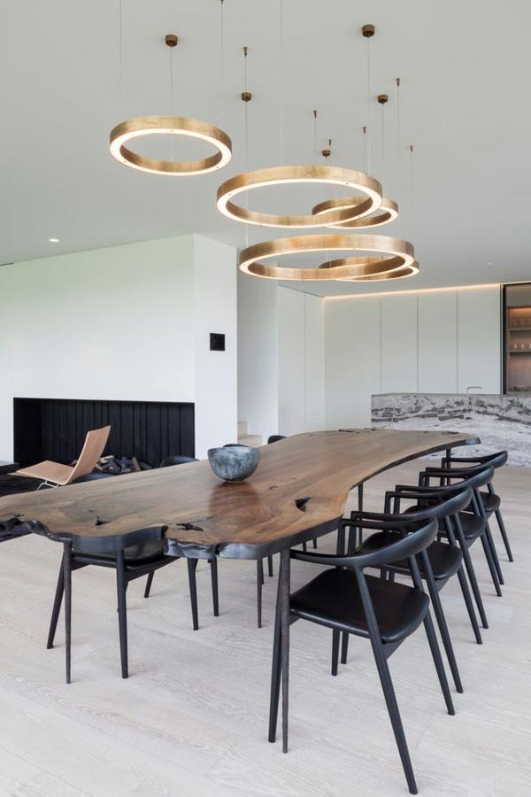 Idee di illuminazione della sala da pranzo – usi i dispositivi ...