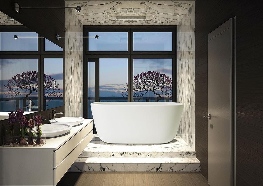 Lullaby, la piccola vasca da bagno freestanding in pietra - AQUATICA ...