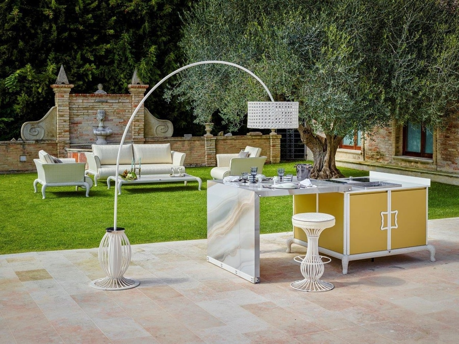 Lussuose cucine per esterno firmate Samuele Mazza - Via D ...