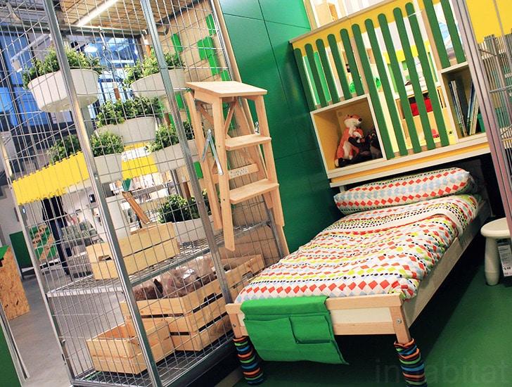 Il negozio provvisorio dell\'Ikea esplora il futuro del disegno della ...