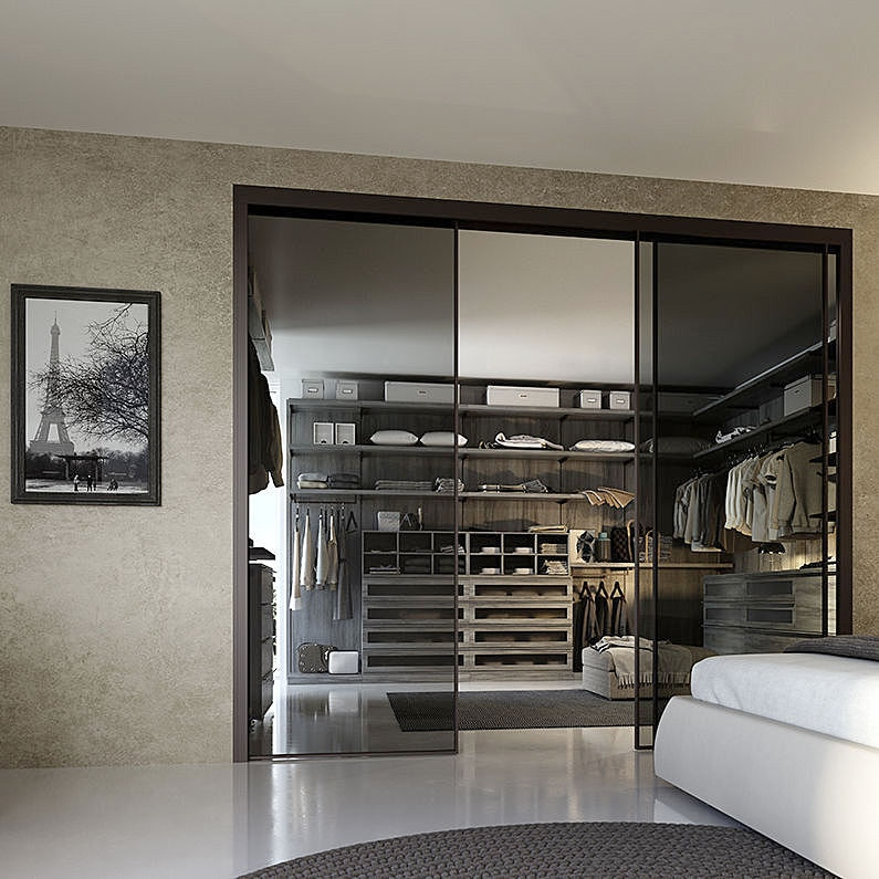 NOVITÀ: cabina armadio ad angolo by GIESSEGI - GIESSEGI
