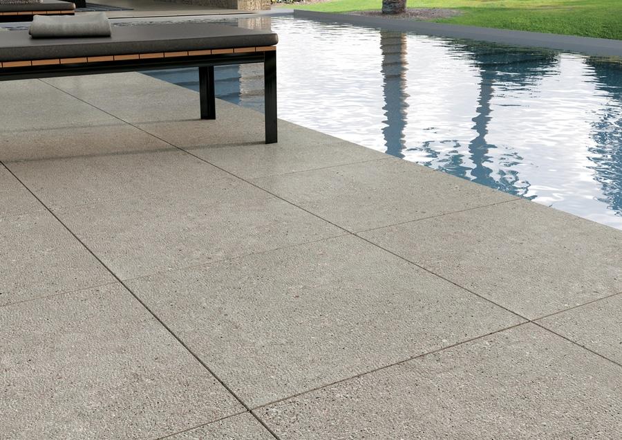 Otto u piastrelle per pavimento e rivestimento effetto pietra per