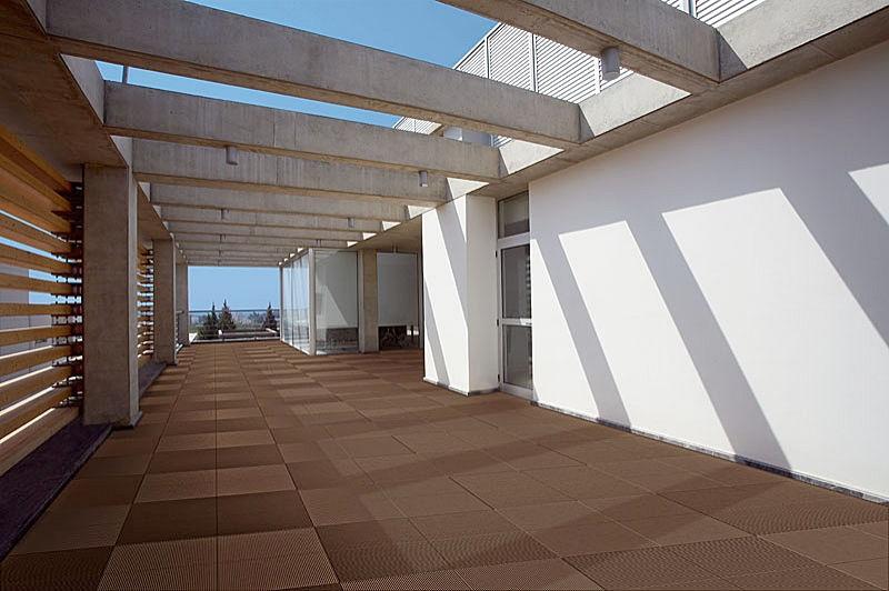 Quadrato delle mattonelle del terrazzo di Terraza, pratical - WERZALIT