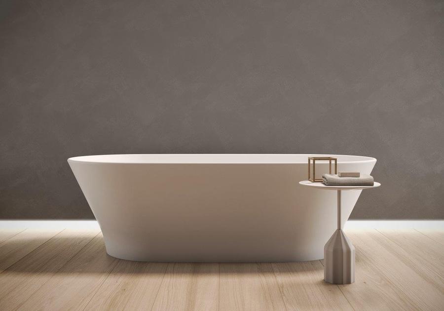 Vasca Da Bagno Krion : Slim quando la vasca da bagno si converte in un oggetto
