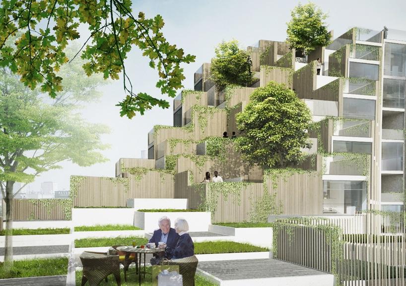 GRANDI 79 & le residenze del parco a Stoccolma fogliame-hanno ...