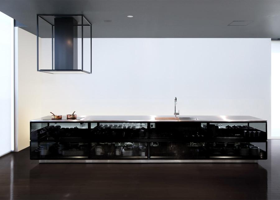 """Tokujin Yoshioka progetta la cucina di vetro """"per mostrare la ..."""