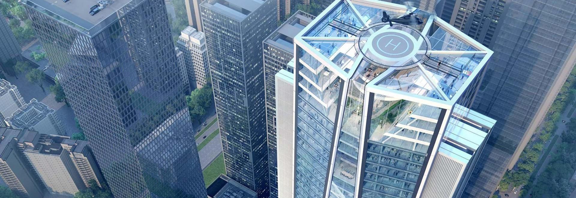 adottivo + grattacielo di progettazioni dei partner per la banca di commercianti della porcellana a Shenzhen