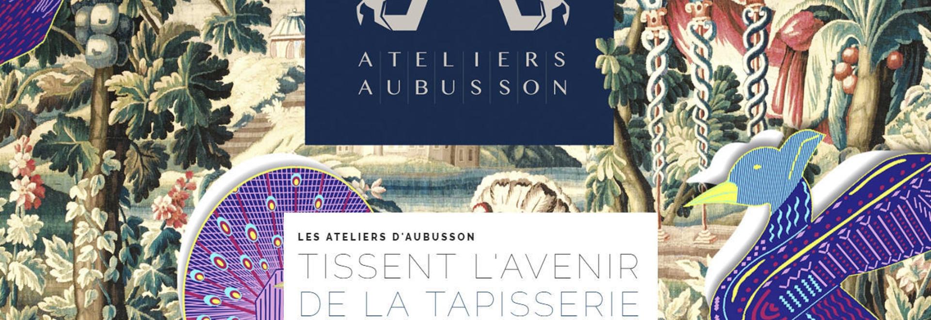 Il d'Aubusson degli atelier di Les tesse il futuro della tappezzeria
