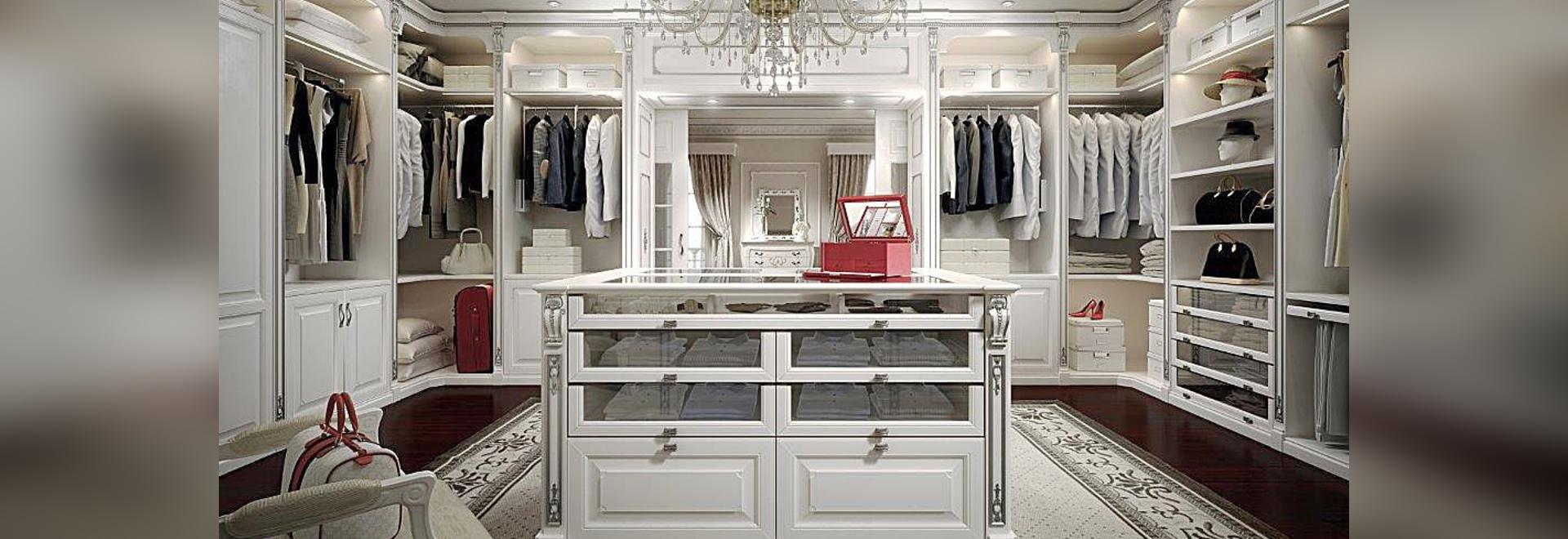 Cabine armadio su misura - Modenese Gastone Luxury Classic Furniture