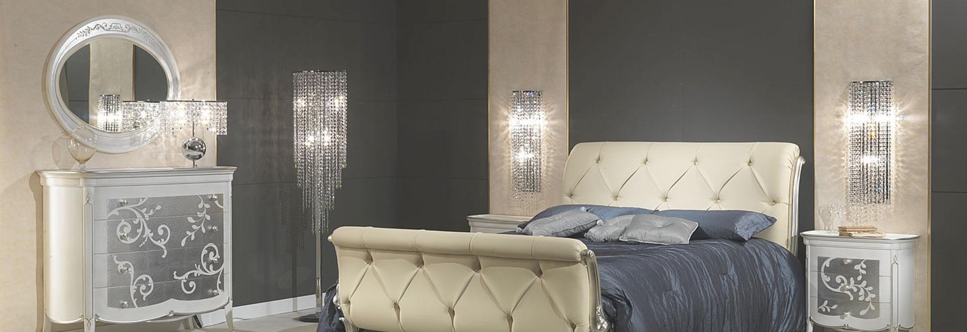 Camera da letto in stile Art Decò. - VIMERCATI MEDA LUXURY CLASSIC ...