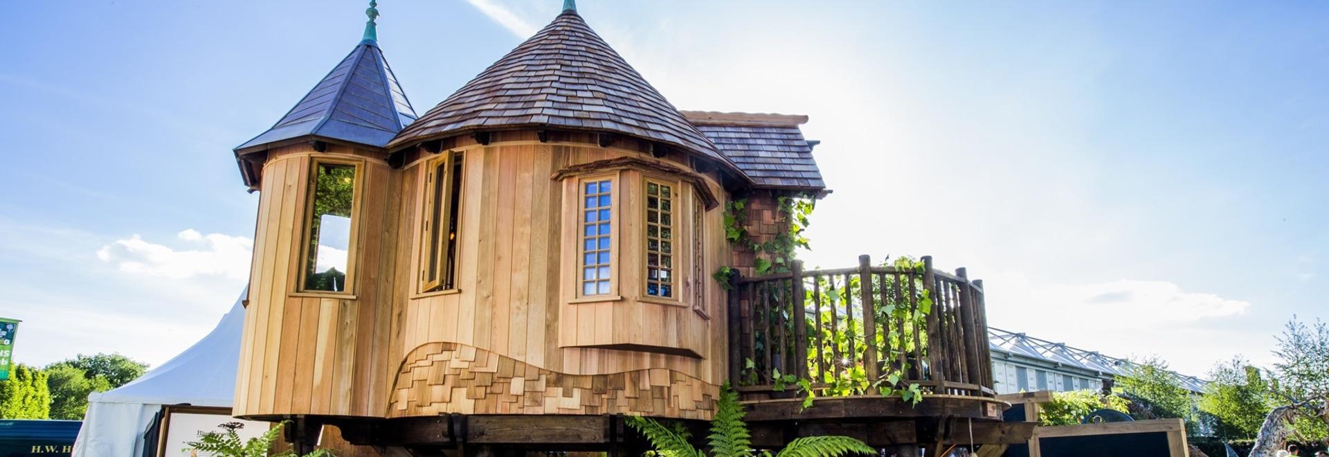 La casa sull'albero ha fatto da Kebony