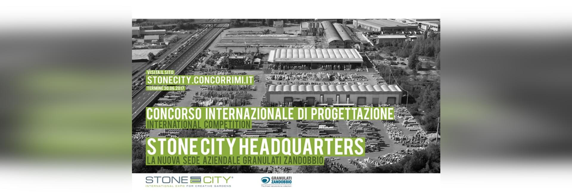 """CONCORSO INTERNAZIONALE DI PROGETTAZIONE """"STONE CITY HEADQUARTER"""""""
