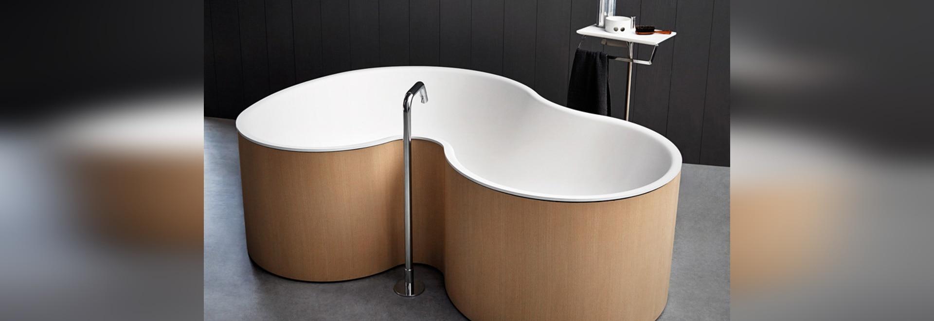 Disegno dello studio mk27 una vasca da bagno curvy per a bocca ...