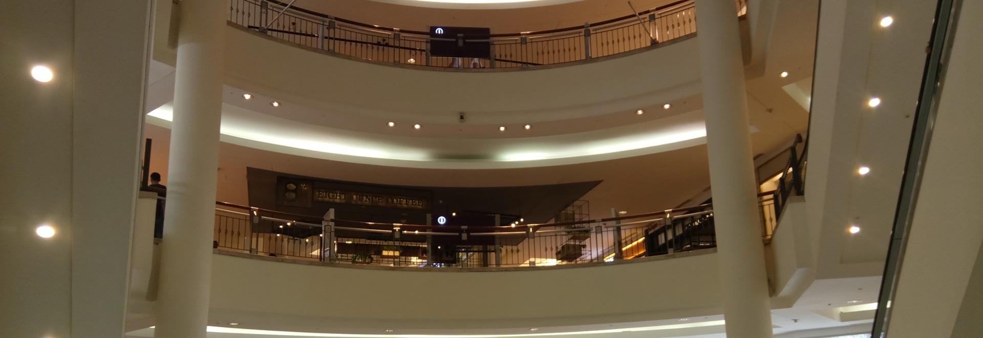 Downlight ottico profondo del riflettore di Darklight per il centro commerciale