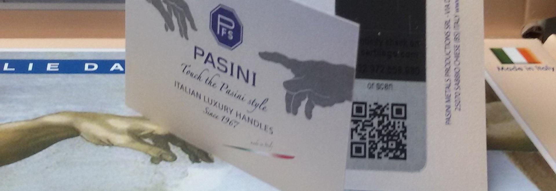 Etichetta di autenticità di PFS PASINI
