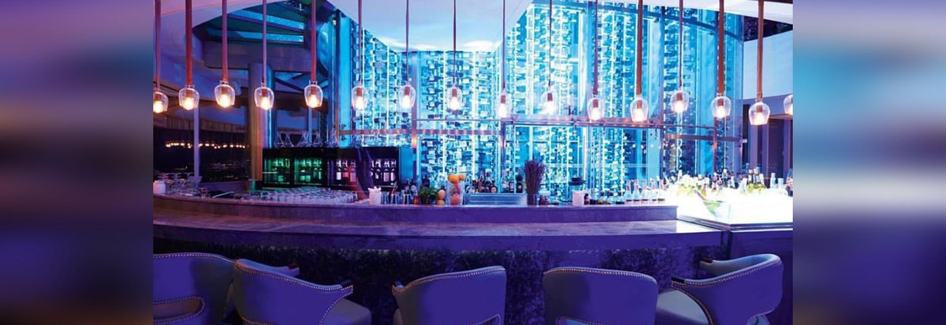 EuroCave fornisce il ristorante unico Uno Mas del tetto