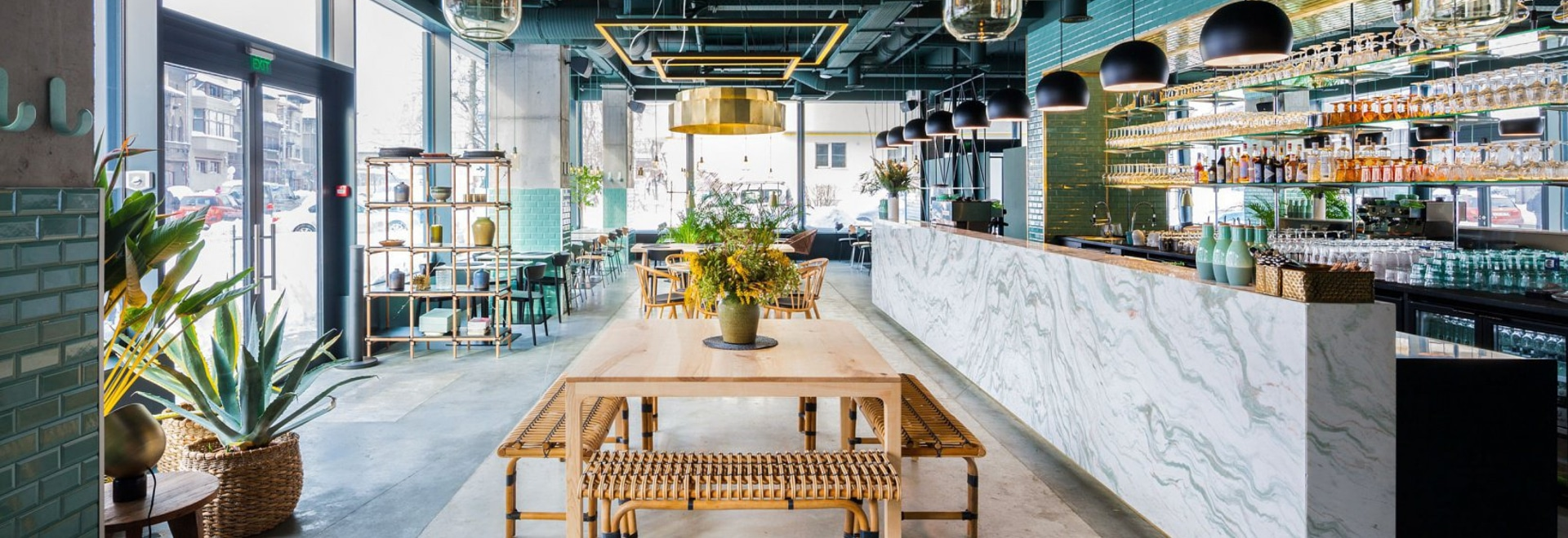 Giungla urbana su un piatto a Kane World Food Studio Restaurant a Bucarest