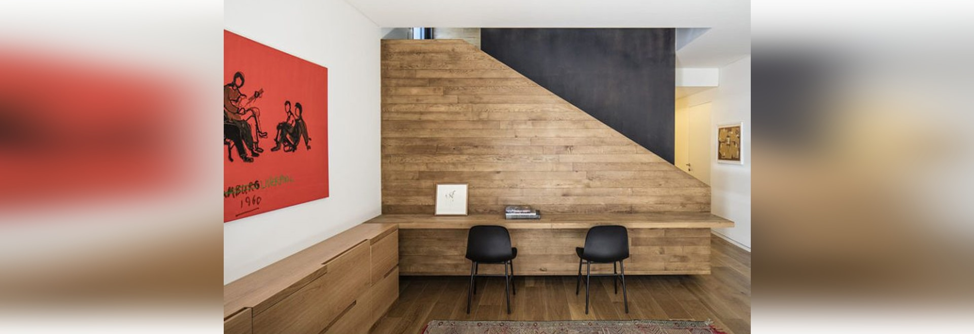 Idee di interior design – costruisca uno scrittorio su uno spazio inutilizzato della parete