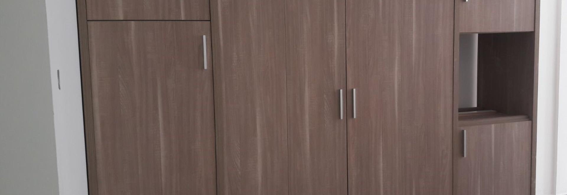Installato 105 mini cucine alla costruzione di residenza di Shamal nel Dubai