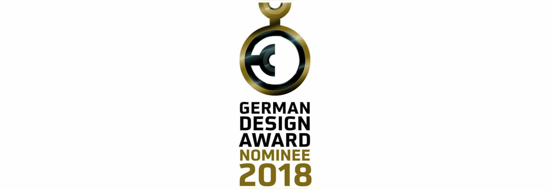 Nomina per il premio tedesco 2018 di progettazione