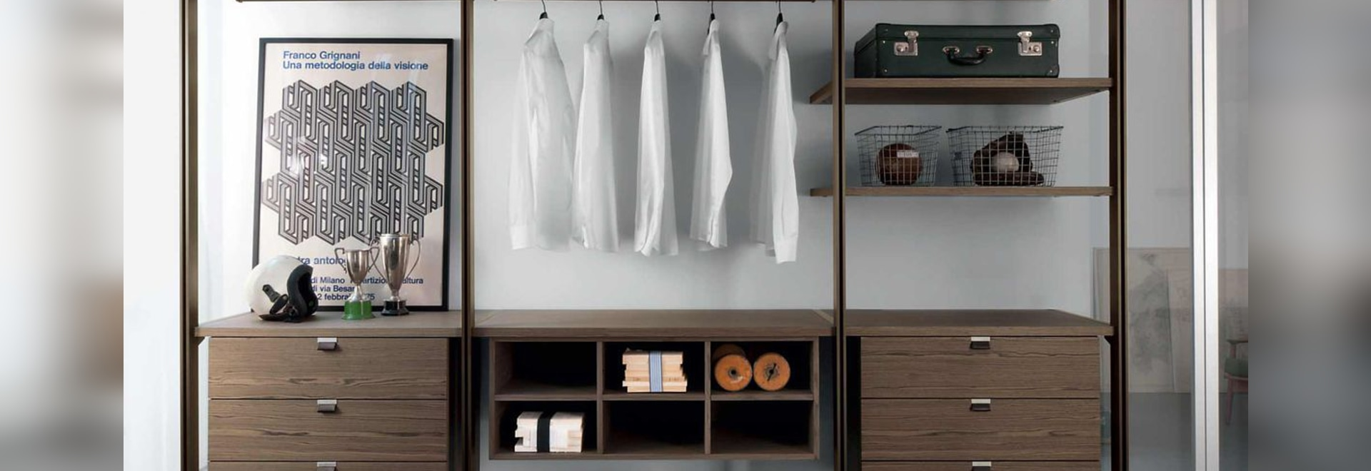 NOVITÀ: cabina armadio a parete by ALBED - ALBED