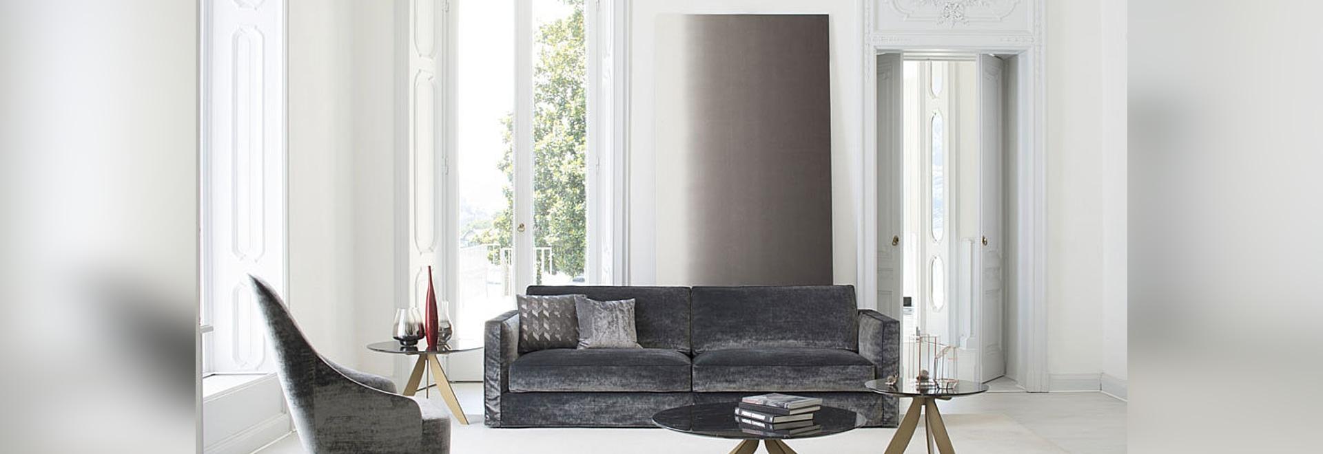 Novità: divano moderno Danton by Berto Salotti - BERTO SALOTTI