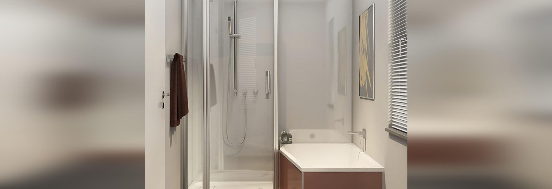 NOVITÀ: vasca da bagno doccia da incasso by DUSCHOLUX AG - DUSCHOLUX AG