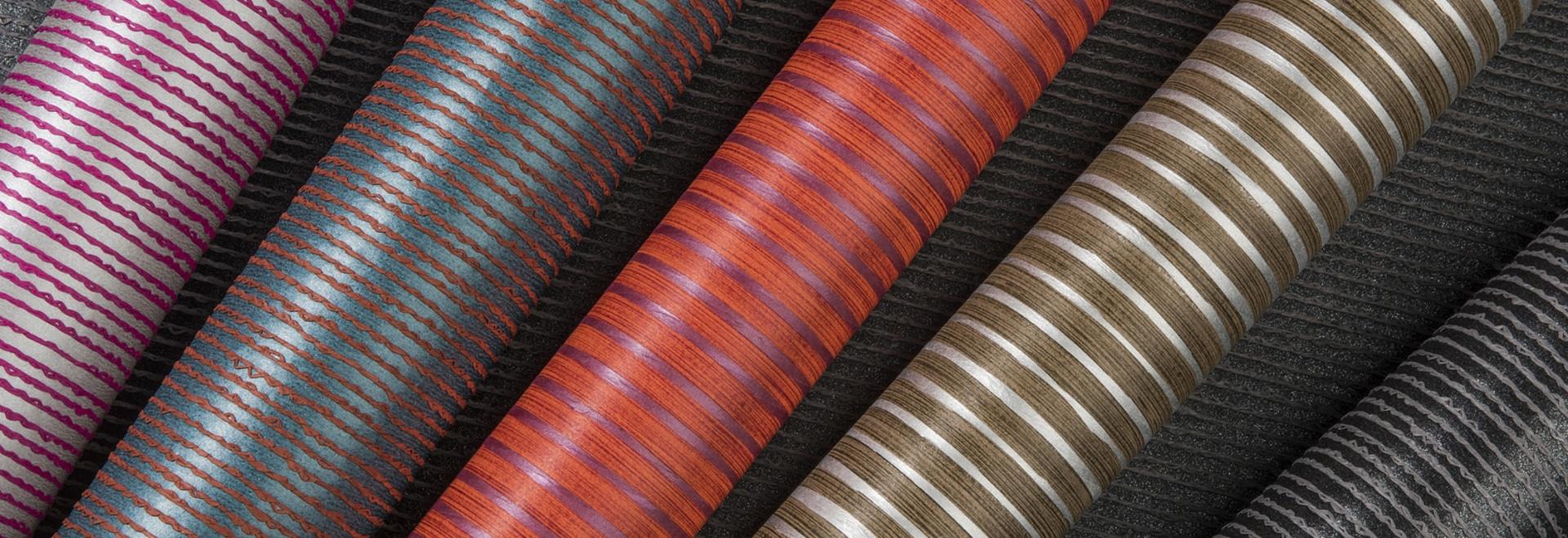 NUOVO: corde di carta su protezione non tessuta