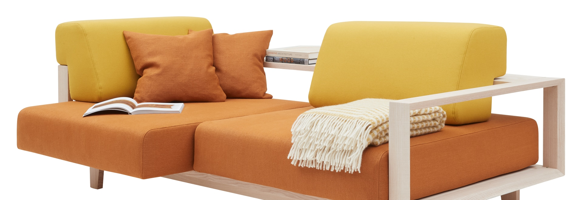 Il nuovo divano creativo WOOD