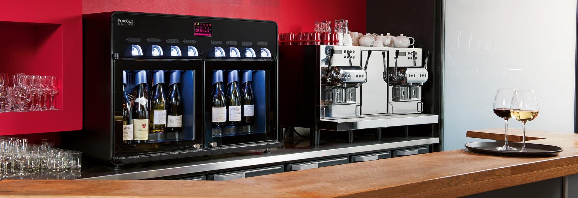 Nuovo erogatore del vino di EuroCave