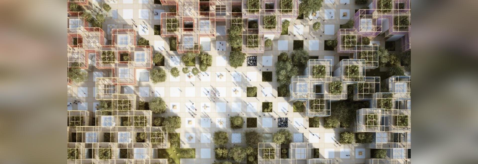 Penda rivela «del il villaggio» ripieno di natura temporaneo per l'Expo orticola di Pechino