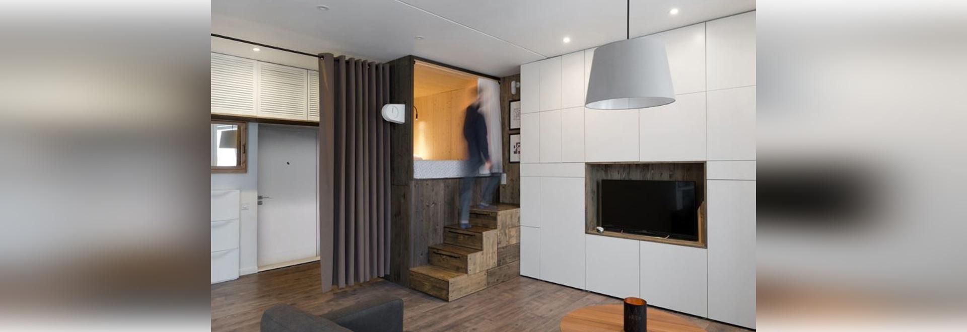 Piccola idea di progettazione dell\'appartamento – la camera da letto ...