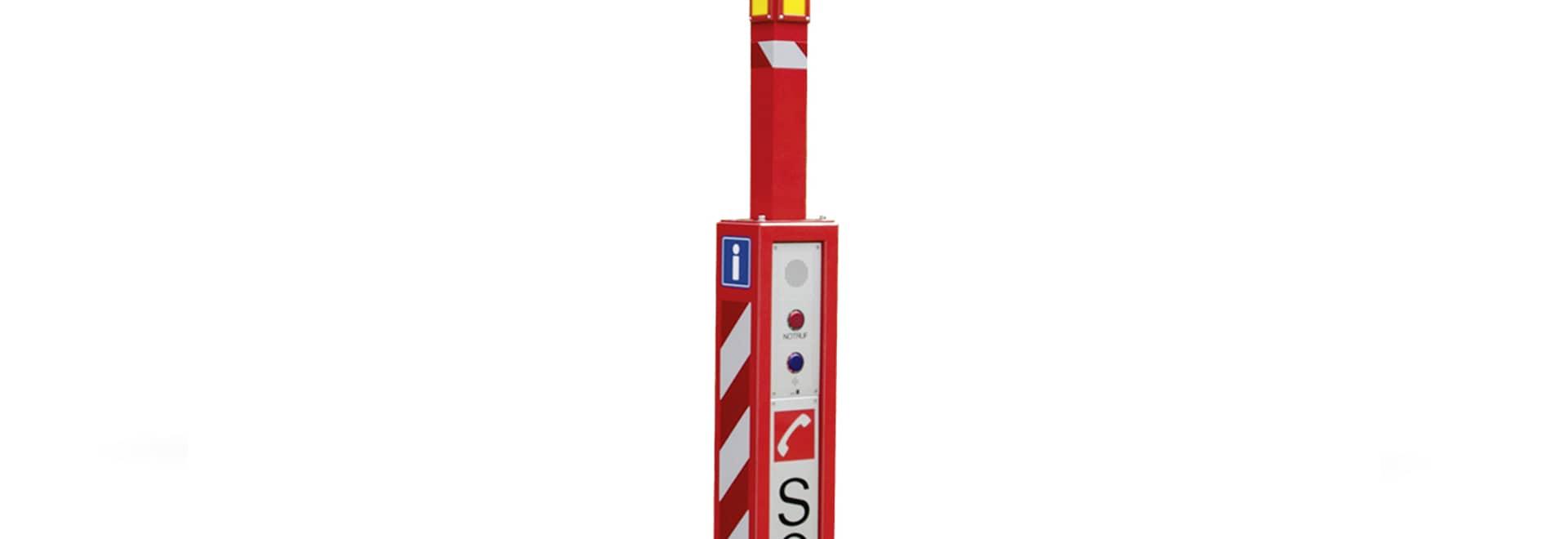 Pilastro di chiamata d'emergenza mobile